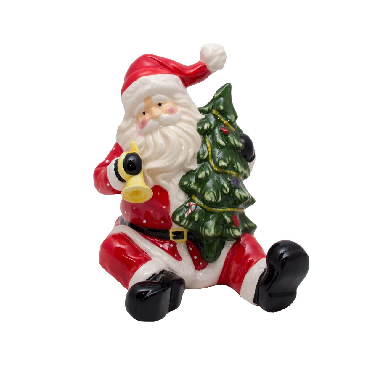 Дед мороз с Елкой сидячий, (440115)