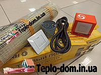 Нагревательный електрический мат In-Therm для обогрева пола 720w (3,6 м.кв.)с сенсорным регулятором Terneo S, фото 1