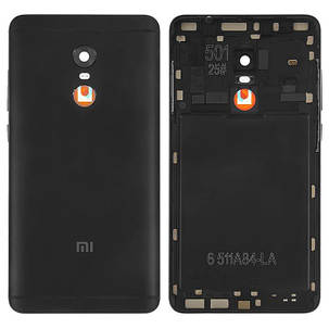 Задня кришка для Xiaomi Redmi Note 4x чорна, фото 2