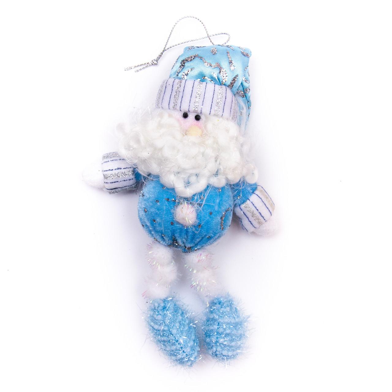 Мягкая игрушка сувенирная Дед Мороз, 15 см (180028-1)