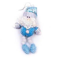 Мягкая игрушка сувенирная Дед Мороз, 15 см (180028-1), фото 1