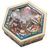 Набор елочных игрушек - шары Снеговик, 7 шт, D7,5 см, разноцветный с росписью, пенопласт (420025-3), фото 2