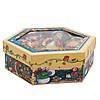 Набор елочных игрушек - шары Снеговик, 7 шт, D7,5 см, разноцветный с росписью, пенопласт (420025-3), фото 3