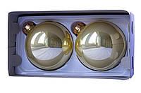 Набор елочных шаров 10*2шт., стекло, золото (390700-2), фото 1