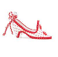 Подвесные фигурки из ткани, туфли, 10см (430673-1)