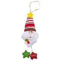 Подвесные фигурки из ткани, Дед Мороз, 20см (430468-2)