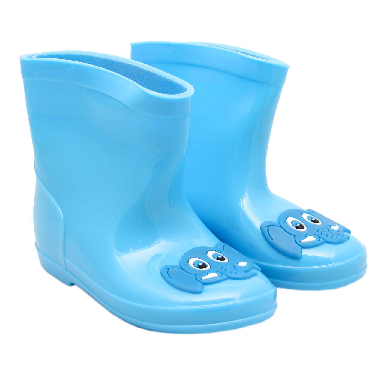 Резиновые сапоги детские, голубые, размер 25,5 (16 см) (513757-4)
