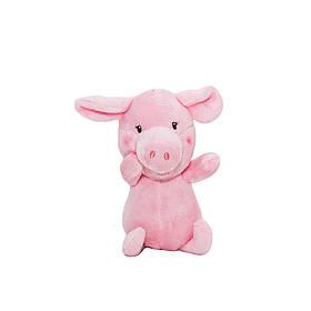 М'яка іграшка - порося, 12 см, рожевий, поліестер (D1725712A)