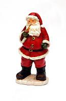 Фигурка сувенирная из полистоуна Дед Мороз с трубкой (011773)