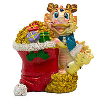 Фигурка сувенирная Дракон с мешком подарков, 10,4*7,2*12,1см (441297-2)