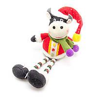 Мягкая игрушка сувенирная Корова 33см (180066-6)
