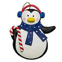 Фигурка сувенирная из полистоуна, h-8 см, пингвин, (000654-3)