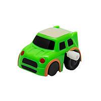 Машинка заводная Aohua зеленая, 4,5 см,пластик. (8058A-3-2), фото 1