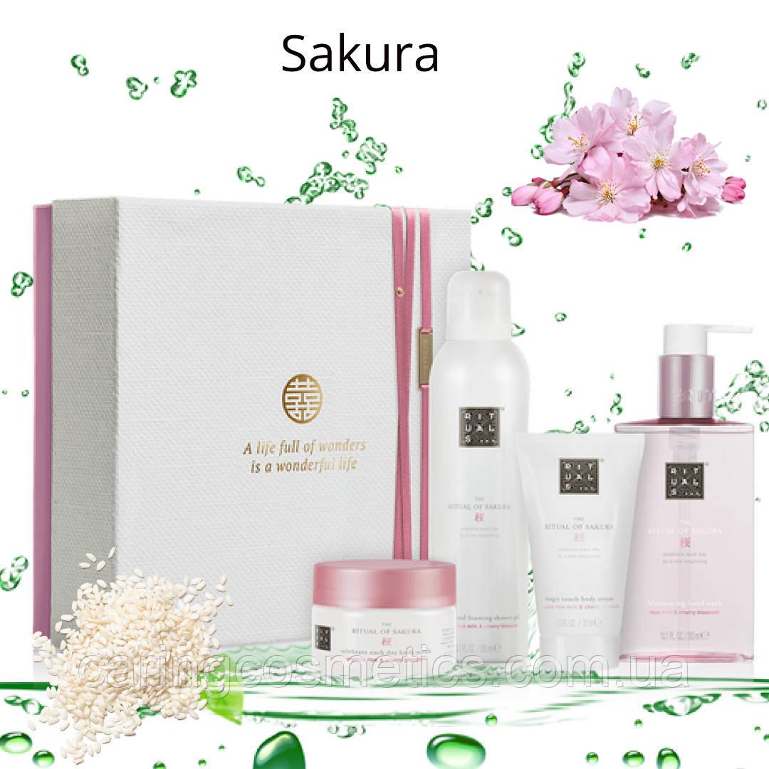 """Rituals. Подарочный набор """"Sakura"""". Ритуал Обновления (М). Производство Нидерланды"""