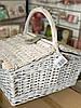 Корзина для природы на 4 персоны с термо сумкой, цвет серый (0503-002), фото 5