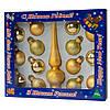 Набор елочных игрушек 15шт., золото (390748-2), фото 2