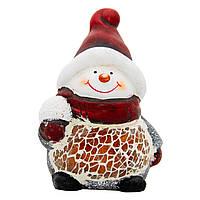 Фигурка сувенирная Снеговик, 6,5*5,5*9,5см (792030)