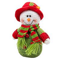 Новогодний сувенир Снеговик, 15 см, (000081-1), фото 1