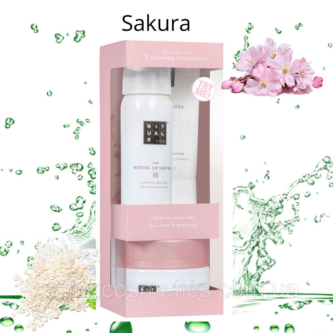 Набір Sakura Try Me Set від Rituals. Виробництво-Нідерланди.