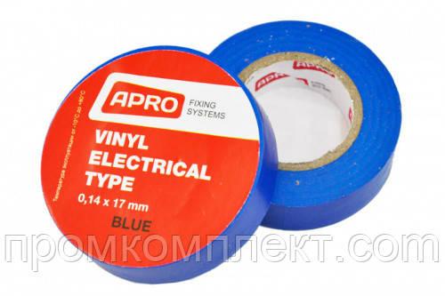 Изолента 0,14ммx17ммx25м синяя (универсальная) (кратно упаковке — 10 шт.) APRO