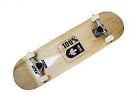 "Скейт деревянный  Скейтборд ""Canada 100%"", фото 1"