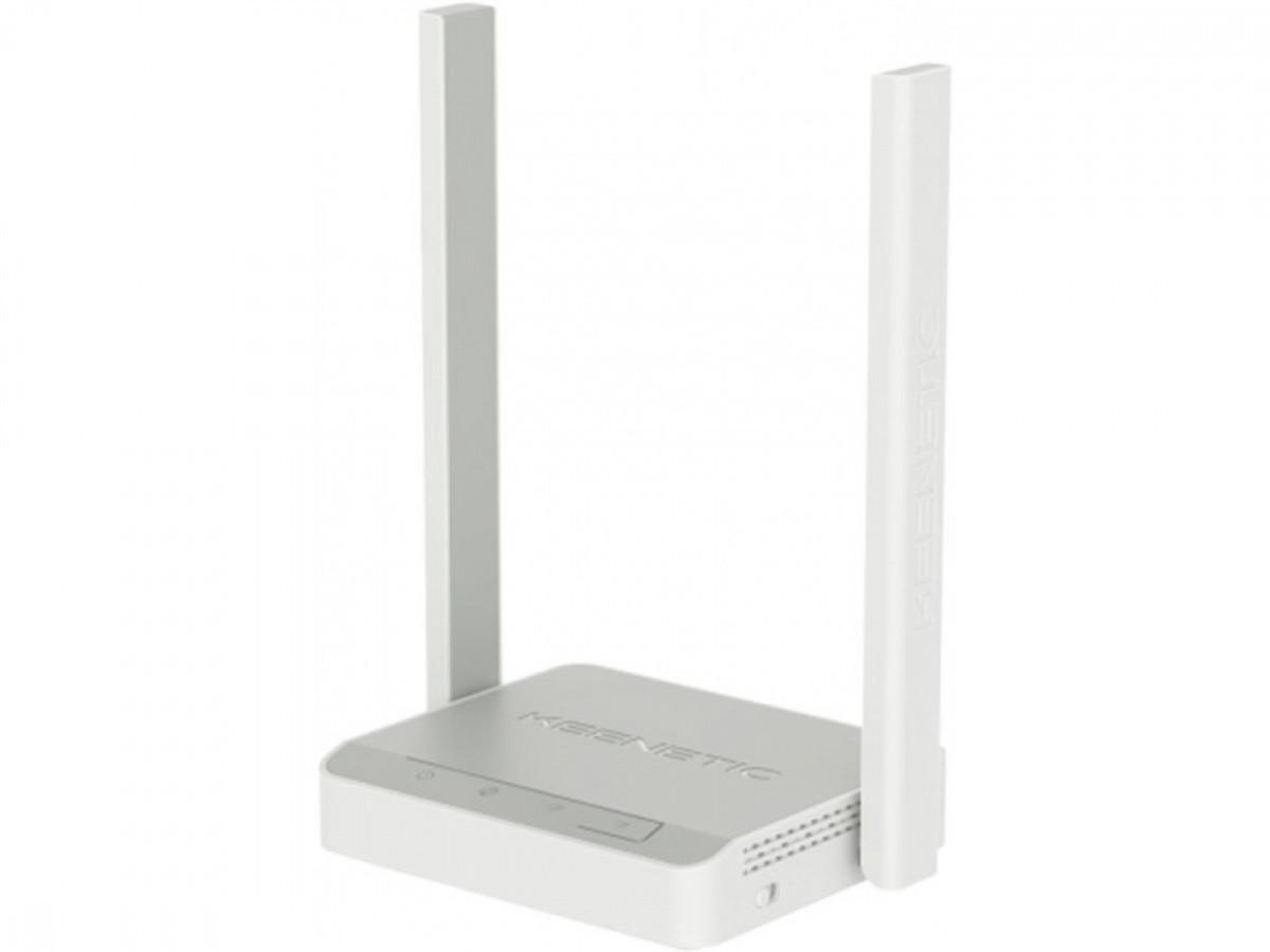Беспроводной маршрутизатор (Wi-Fi роутер) KEENETIC Start Wi-Fi N300, 4XFE, 2 антенны (KN-1111)
