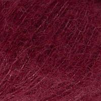 Пряжа Drops Brushed Alpaca Silk (цвет 23 bordeaux)
