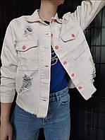 Джинсовая куртка женская Top Shop рр  s s m m l