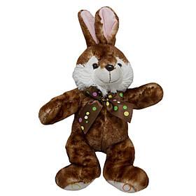 М'яка іграшка Заєць коричневий, 23 см (M1222923-1)