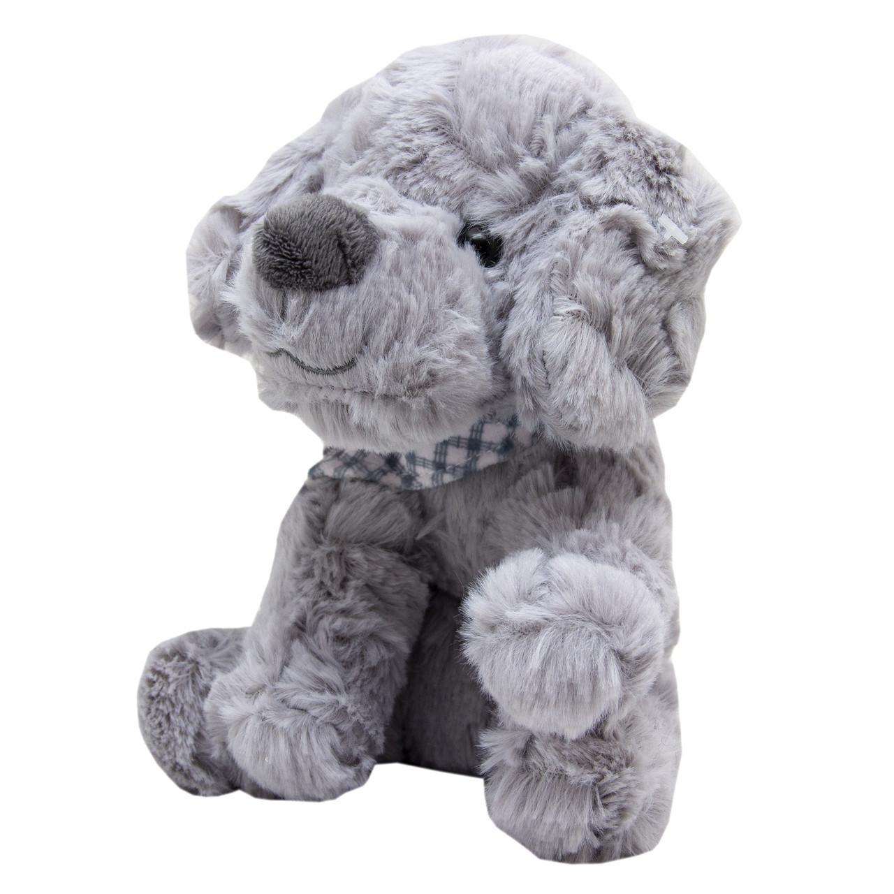 М'яка іграшка Кудлате щеня сірий 18 см (X1626418-2)