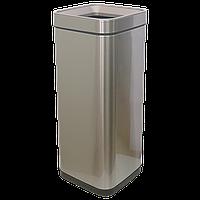 Ведро для мусора JAH 30 л серебряный металлик без крышки и внутреннего ведра, фото 1