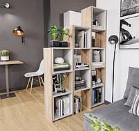 Разделитель комнаты, стеллаж для книг, игрушек и цветов, полка для книг, стеллаж для зонирования комнаты P0010