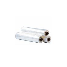 Стретч-плівка щільністю 20 мкм, шириною 500 мм, довжиною 215 м,  прозора (2к) (1/6)