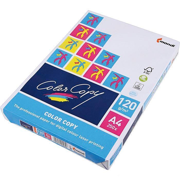 Папір для лазерного друку, Color Copy, A4, 120г/м2, 250 арк.