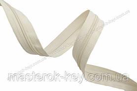 Молния спиральная в бобине №7 Обувная Италия С005 телесная 200м.