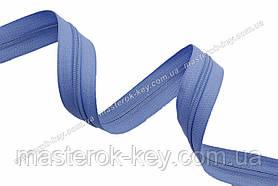 Молния спиральная в бобине №7 Обувная Италия С260 голубая 200м.