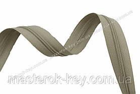 Молния спиральная в бобине №7 Обувная Италия С172 оливковая 200м.
