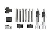 Профессиональный набор бит для демонтажа шкивов генератора Sonic-equipment 13 шт 806001, КОД: 1577451