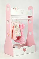 Вешалка, стойка для детской одежды