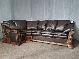 """Угловой диван """"Ferenza"""", Ференза. Натуральная кожа"""