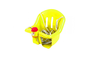 Качеля пластиковая 757OR(Yellow) Желтая до 20 кг.