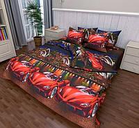 Полуторный размер постельное белье «Феррари»