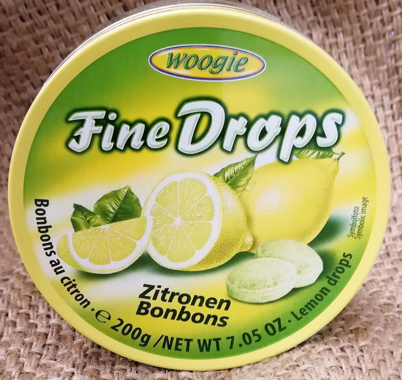 Woogie Fine Drops Zitronen