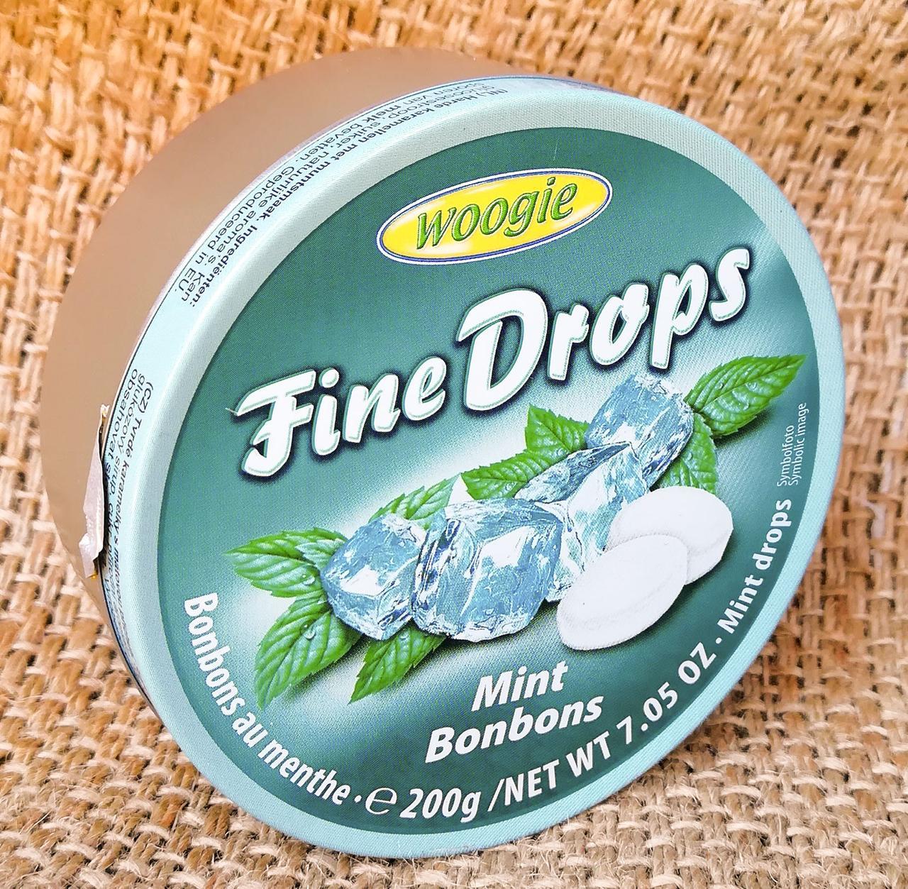 Woogie Fine Drops Mint