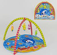 Коврик игровой Small Toys 604-8В 5 подвесок 2-80113, КОД: 1250481