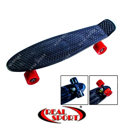 Скейтборд Penny Board Black SK120061 22in