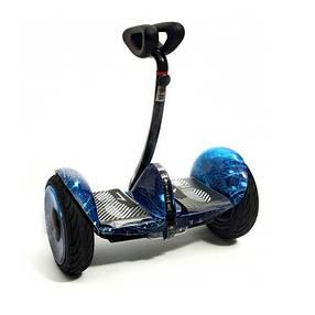 Мини сигвей гироскутер Ninebot Mini Robot Синий космос Міні-сігвей гіроскутер  Найнбот мини Робот, фото 2