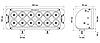 """Світлодіодна балка для квадроцикла ProLight DUAL 11"""" (120Вт) (спрямований промінь), фото 2"""