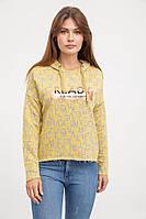Свитшот женский 32P034-1 цвет Желтый