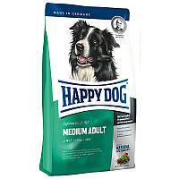 Сухой корм для взрослых собак средних пород весом от 11 до 25 кг Happy Dog Fit Well Medium Adult Хэппи Дог
